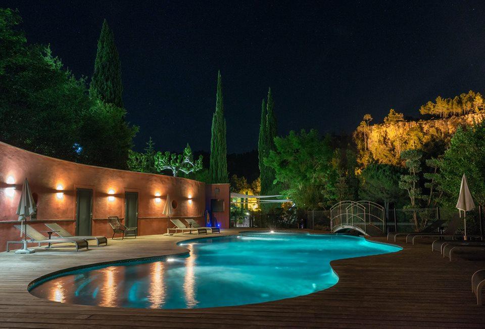 Gorges de Pennafort piscine de nuit