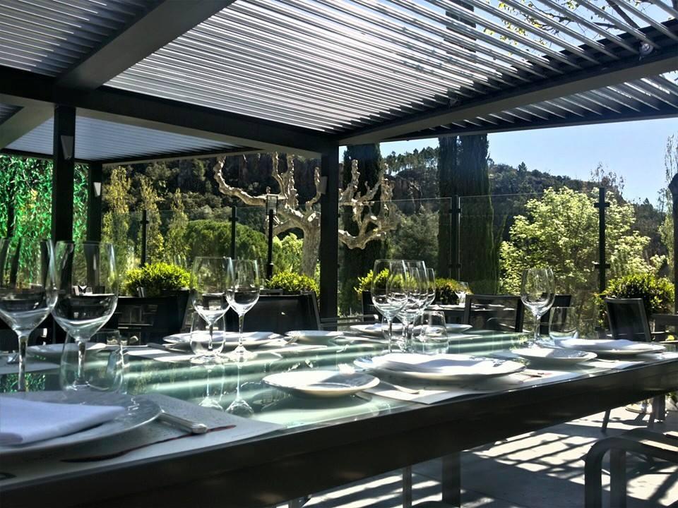 Gorges de Pennafort restaurant terrasse