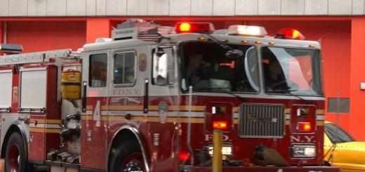 Camion de pompiers NYC