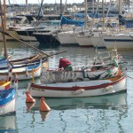 Pêcheurs au Port de Nice